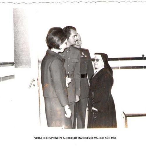 036 1966 Visita D. Juan Carlos y Dña. Sofía